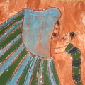 Jaaja Getu And Her Abigail - Tile by Gloria Ssali
