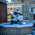 Jack Frost Visits For First Day Of Spring by Michael Brooks