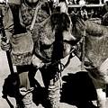 Jack Hendrickson With Pet Burro  Number 1 Helldorado Days Parade Tombstone Arizona 1980 by David Lee Guss