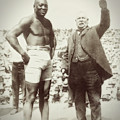 Jack Johnson - Heavyweight Boxing Champion  1908 - 1915 by Daniel Hagerman