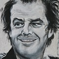 Jack Nicholson by Eric Dee