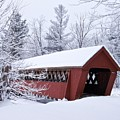 Jack O'lantern Covered Bridge by James Walsh