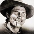 Jack Palance, Vintage Actor by John Springfield