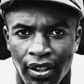 Jackie Robinson, Brooklyn Dodgers, 1947 by Everett