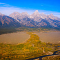 Jackson Hole Wy Tetons National Park Views by James BO  Insogna