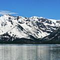 Jackson Lake Teton Panorama by Greg Norrell