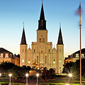 Jackson Square And St Louis Cathedral by Nicholas Blackwell