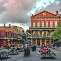 Jackson Square Evening by Diana Powell