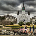 Jackson Square New Orleans by Don Lovett