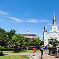 Jackson Square Panorama by Chris Coffee
