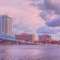 Jacksonville Florida City Of Bridges  by Ola Allen