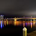 Jacksonville Night Sky by Paul Quinn