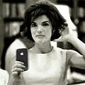 Jacky Kennedy Takes A Selfie Small Version by Tony Rubino