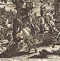 Jacob Kills Absalom, Son Of King David by Antonio Tempesta