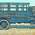 Jacobs Transfer Company 1917 White Truck by David King