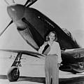 Jacqueline Cochran 1906-1980 American by Everett