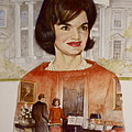 Jacqueline Kennedy Onassis  by Cliff Spohn