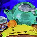 Jade Teapot  by Stephanie Berry