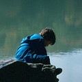 Jadon Pondering by Penny Neimiller
