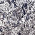Jagged Glacier by Marv Vandehey