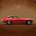 Jaguar E Type by Mark Rogan
