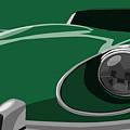 Jaguar E-type by Michael Tompsett