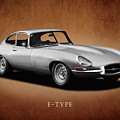 Jaguar E-Type Series 1 by Mark Rogan
