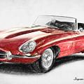 Jaguar E-type by Zapista Zapista