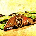 Jaguar Le Mans 2015, Race Car, Fast Car, Gift For Men by Drawspots Illustrations