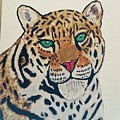 Jaguar Painting by Mohit Yadav
