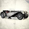 Jaguar Ss100 1936 by Mark Rogan