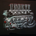 Jaguar V12 Twr Engine by Richard Le Page