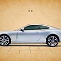 Jaguar Xk by Mark Rogan