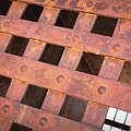 Rusty Jailhouse Door by Carol Groenen
