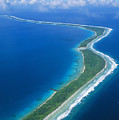 Jaluit Atoll And Lagoon by Greg Vaughn - Printscapes
