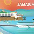 Jamaica Horizontal Scene by Karen Young