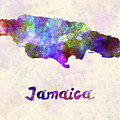 Jamaica In Watercolor by Pablo Romero