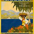 Jamaica by Nostalgic Prints