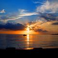 Jamaican Sunset Rays  By Steve Ellenburg by Steve Ellenburg