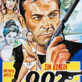 James Bond Dr.no 1962 by Star Portraits Art