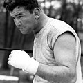 James Braddock In Training For Upcoming by Everett