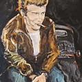 James Dean by Todd Artist