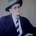 James Joyce by Eamon Doyle