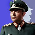 James Mason As Erwin Rommel Publicity Photo The Desert Fox 1951 Color Added 2016 by David Lee Guss