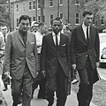 James Meridith And Ole Miss Integration 1962 by Library Of Congress