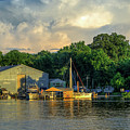 James River Marina by Jerry Gammon