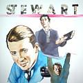 James Stewart by Bryan Bustard