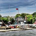 Jamestown Boat Yard by Melissa Hicks