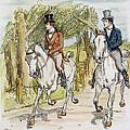 Jane Austen: Illustration by Granger