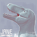 Jane Is A Fossil Specimen Of Small by Christian Masnaghetti